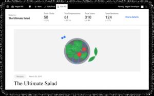 Google Site Kit Screenshot